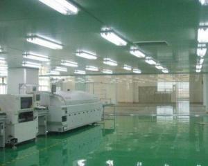 青岛空港工业园电子厂车间净化